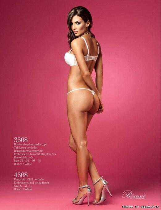 Наталья Велес шикарная красивая сексуальная модель в нижнем белье