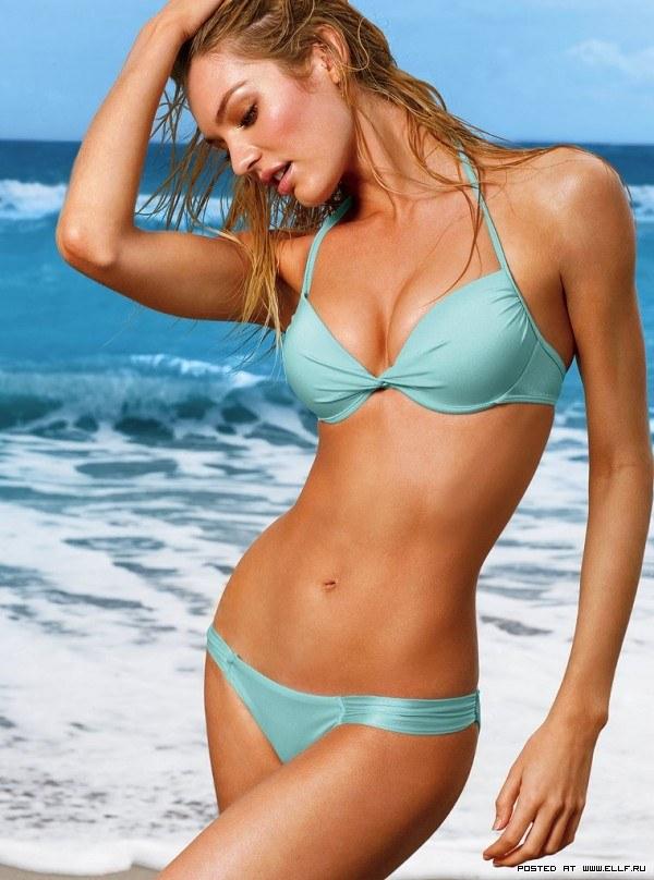 Кэндис Свейнпол стройная модель блондинка фотосет в бикини