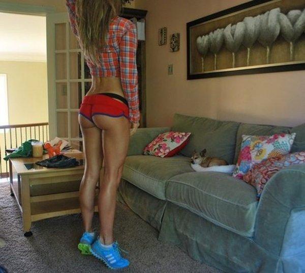 Девушки со спортивной фигурой