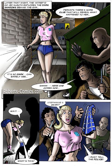 Порно комикс от Gary Roberts - Basement