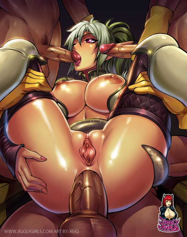 Порно картинки - Jiggly Girls