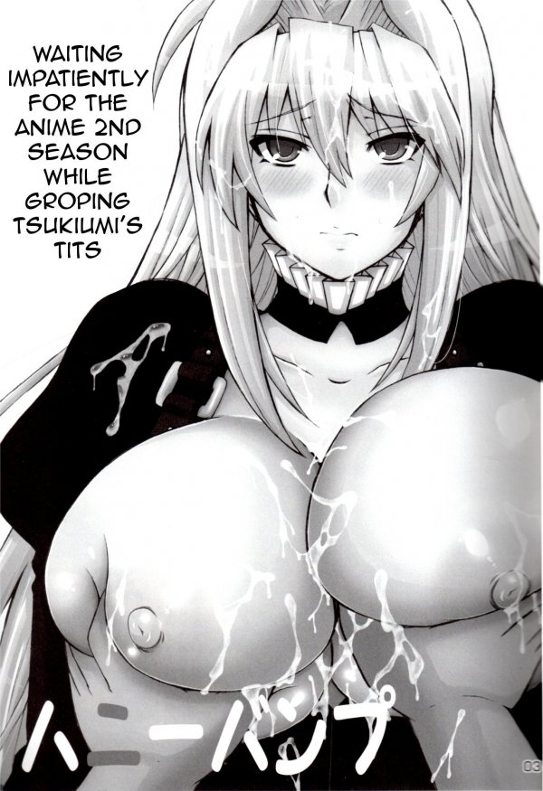 Waiting Impatiently for The Anime 2nd Season While Groping Tsukiumi's Tits (Sekirei)