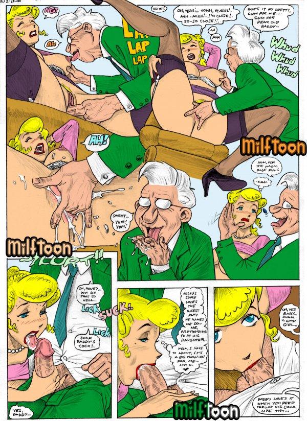 Milftoon - Blondie (color)