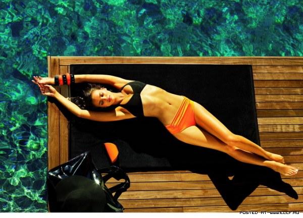 Ирина Шейк стройная красивая и сексуальная модель