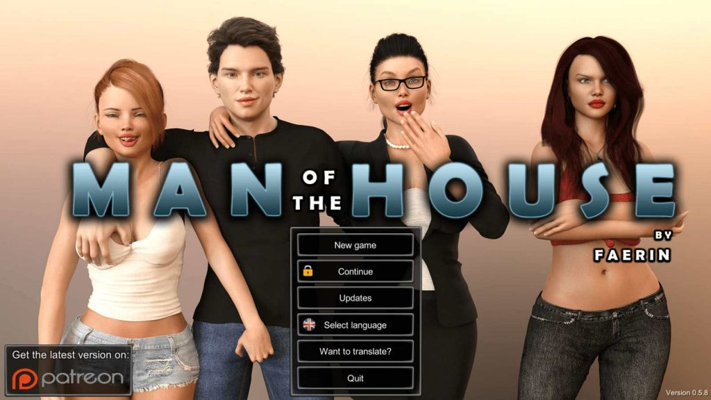 Man of the House [v1.0.2c Extra] [Faerin]